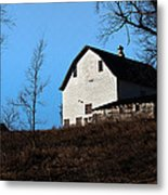 Early Morning Barn Metal Print