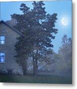 Early Morning Farmhouse Metal Print