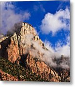Early Morning Zion National Park Metal Print