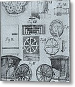 Early Odometer Metal Print by Science Source