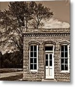 Early Office Building Metal Print
