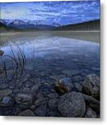 Early Summer Morning On Patricia Lake Metal Print