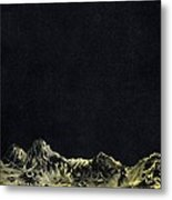 Earth From Moon Metal Print