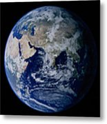 Earth From Space Showing Eastern Metal Print