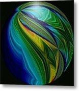 Earth In Motion Metal Print