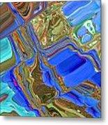 Earth Tones Metal Print