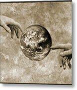 Earth's Creation Metal Print by Detlev Van Ravenswaay