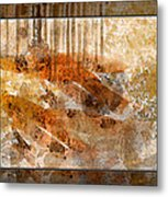 Earthtones Abstract Metal Print