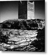 Easkey Roslee Roslea Castle County Sligo Ireland Metal Print