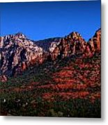 East Sedona Colors Metal Print
