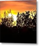 East Texas Sunset Metal Print
