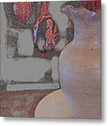 Easter The Drawing Metal Print