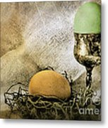 Easter With Patina 2 Metal Print