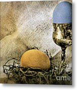 Easter With Patina 3 Metal Print
