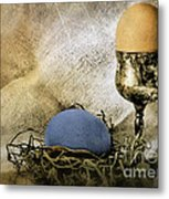 Easter With Patina 5 Metal Print