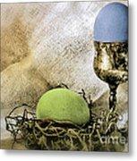 Easter With Patina 6 Metal Print