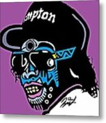 Eazy E Full Color Metal Print