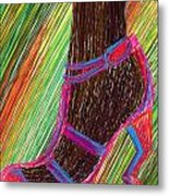 Ebony In High Heels Metal Print by Kenal Louis