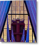 Echo Of The Pipes Metal Print