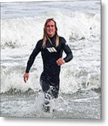 Echoes Of Baywatch Metal Print