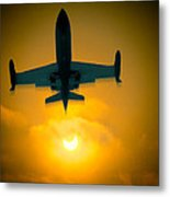 Eclipse Of The Sun Metal Print