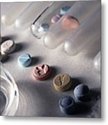 Ecstasy Test Metal Print