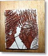 Ed And Ezra - Tile Metal Print