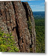 Edge Of The Mountain Metal Print