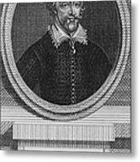 Edmund Spenser 1552-1599 English Poet Metal Print