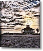 Eerie Lighthouse Metal Print