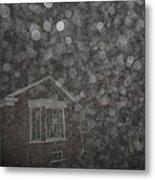 Eerie Spheres In The Night Metal Print
