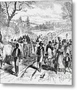 Effects Of Emancipation Proclamation Metal Print
