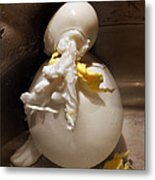 Egg Man Metal Print
