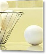 Eggs In My Kitchen Metal Print