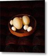 Eggs Metal Print by YoMamaBird Rhonda