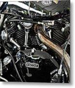 Egli-vincent Godet Motorcycle Metal Print