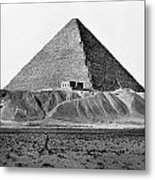 Egypt: Cheops Pyramid Metal Print