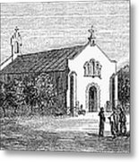 Egypt: El Guisr Church, 1869 Metal Print