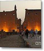 Egypt Luxor Temple Metal Print