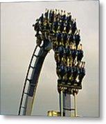 Egypt-montu Rollercoaster At Busch Metal Print