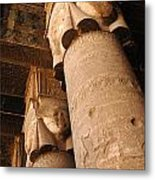 Egypt Temple Of Dendara Metal Print