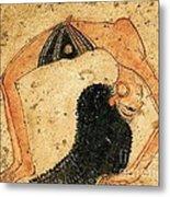Egyptian Dancer Metal Print