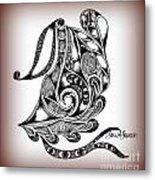 Egyptian Labyrinth Metal Print