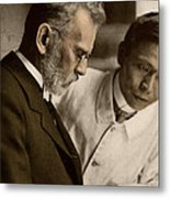 Ehrlich And Hata, Discoverers Metal Print