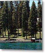 Ehrman Mansion Lake Tahoe Metal Print