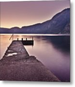 Eidfjord At Sunset Metal Print by Jesus Villalba