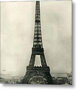 Eiffel Tower 1890 Metal Print