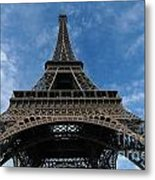 Eiffel Tower Metal Print