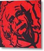 Einstein 2 Metal Print