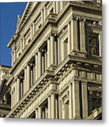 Eisenhower Executive Office Building Washington Dc Metal Print